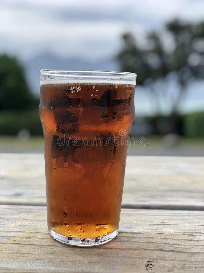 De bar van de bierpint stock afbeelding
