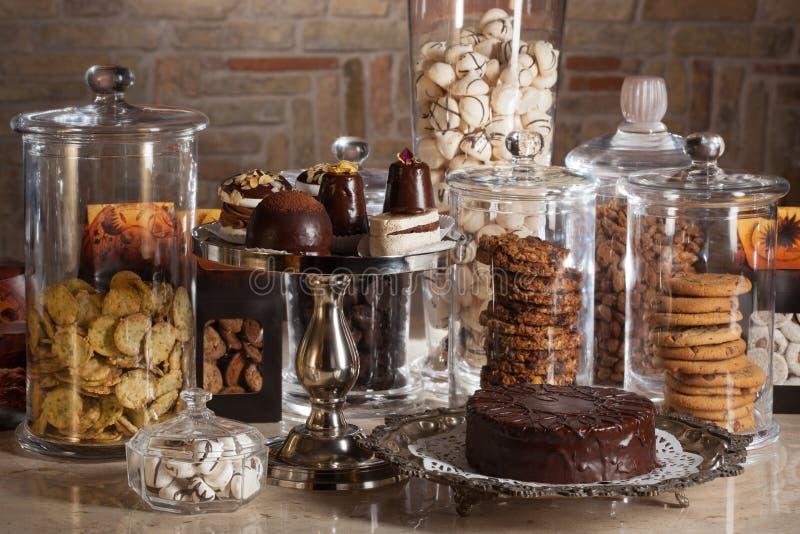 De bar van het suikergoed stock foto