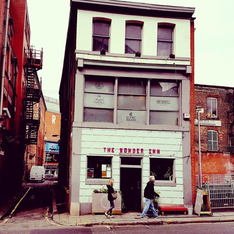 De bar van Manchester stock foto's