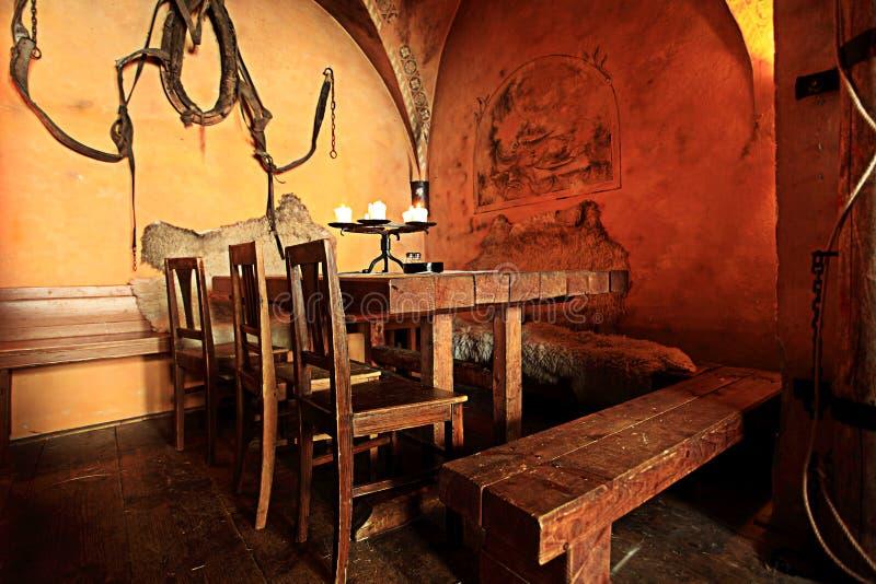 De bar van Mediaval stock foto's