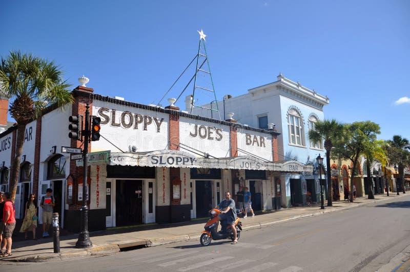 De Bar van onzorgvuldige Joe, Key West royalty-vrije stock fotografie
