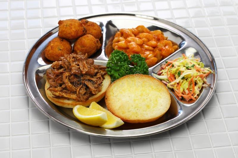 De barbecue van Noord-Carolina royalty-vrije stock afbeelding