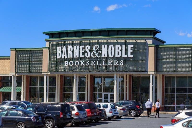 De Barnes & Noble-Boekhandelaarsopslag royalty-vrije stock fotografie