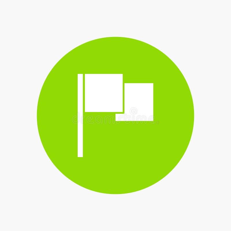 De base, drapeau, Ui illustration stock