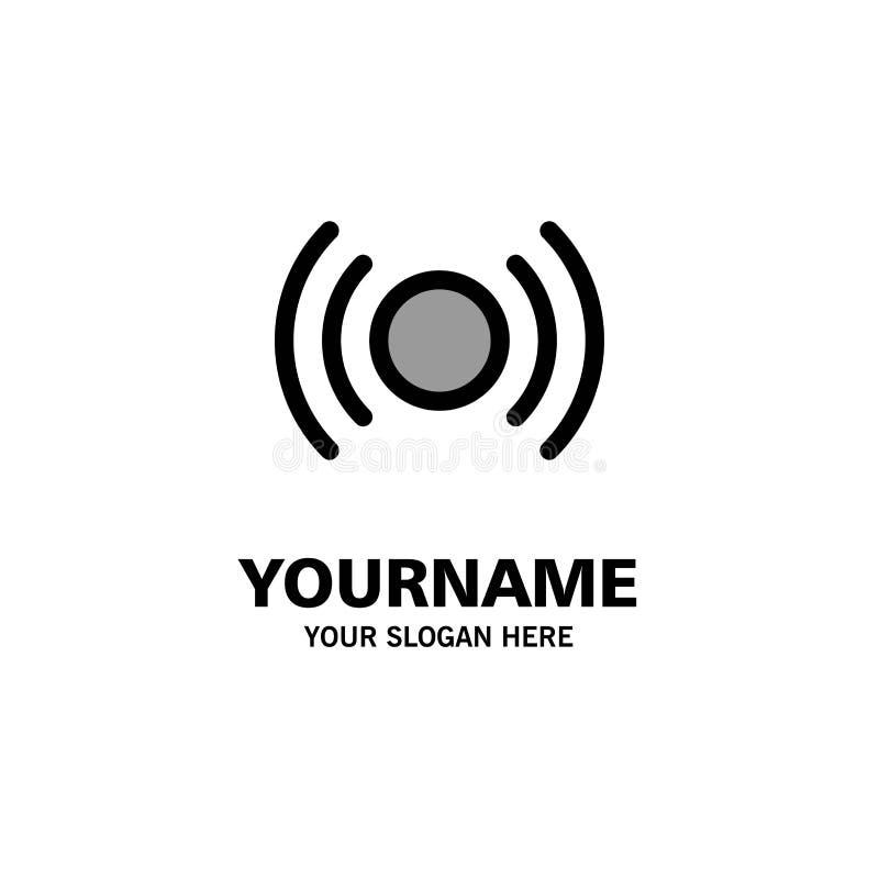 De base, essentiel, signal, Ui, affaires Logo Template d'Ux couleur plate illustration de vecteur