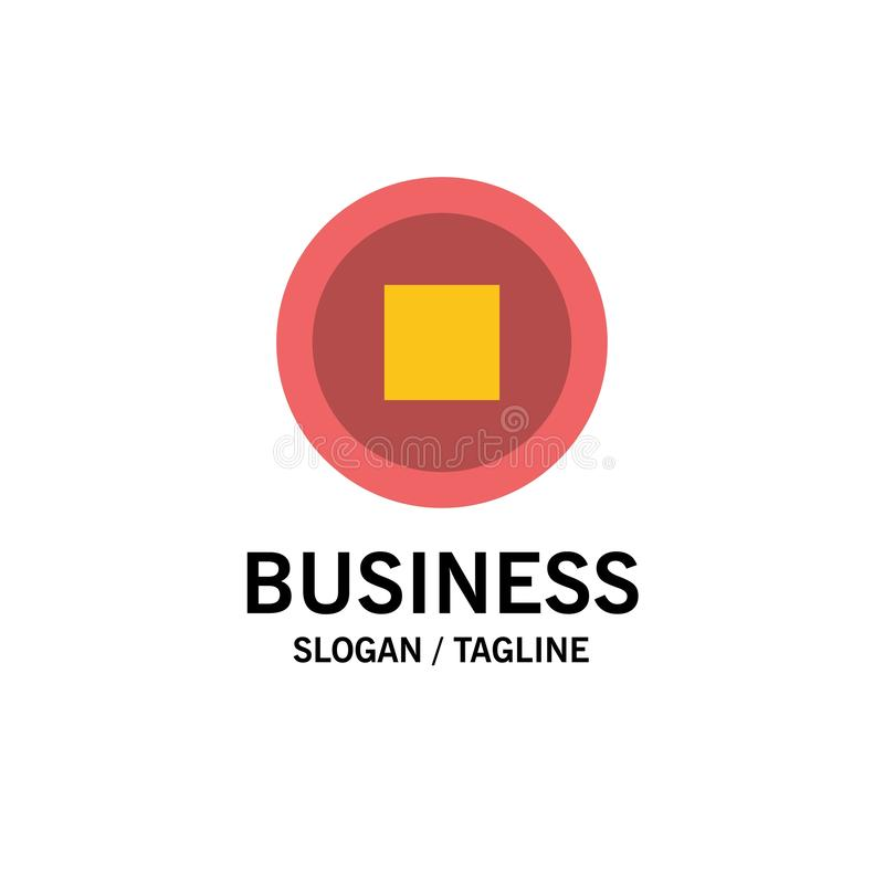 De base, interface, affaires Logo Template d'utilisateur couleur plate illustration libre de droits