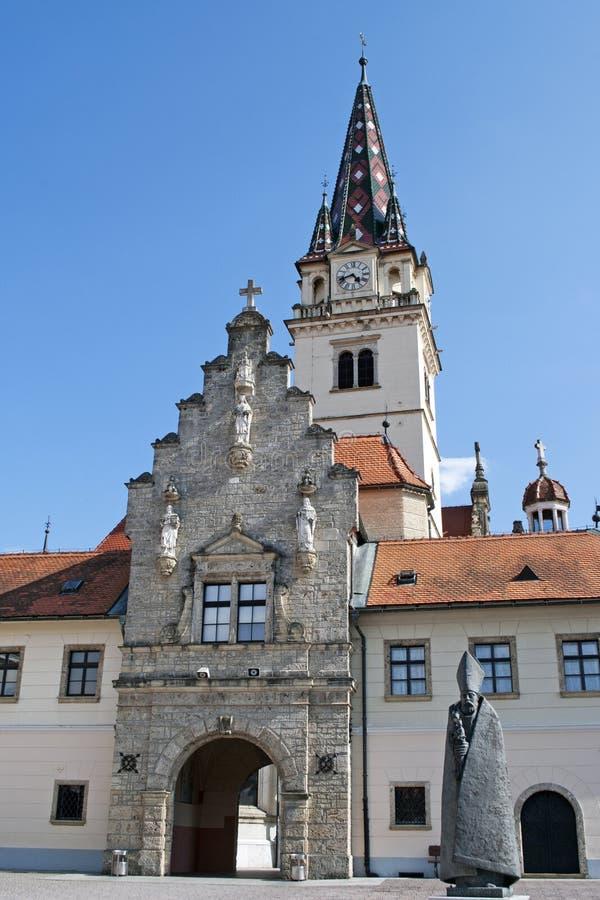 De basiliek van Bistrica van Marija royalty-vrije stock afbeeldingen