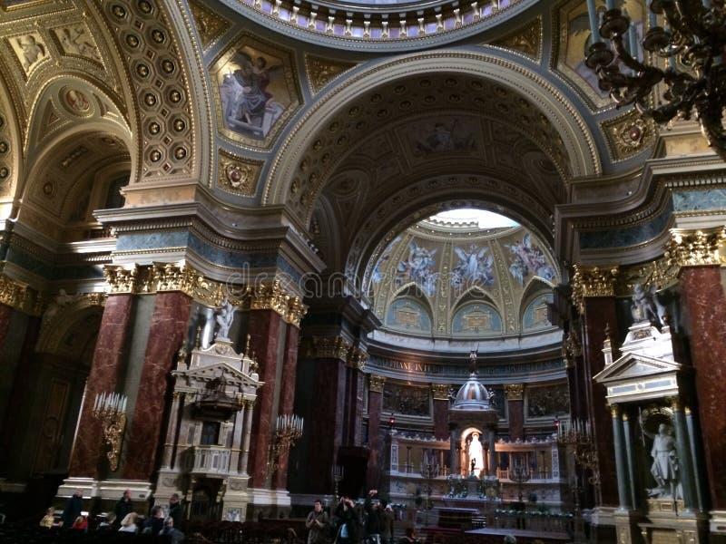 De Basiliek van Boedapest royalty-vrije stock foto