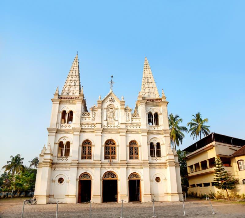 De basiliek van Cruz van de kerstman in Kochi royalty-vrije stock foto's