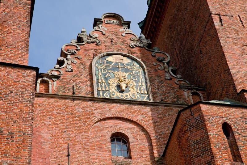 De Basiliek van de Kathedraal van Gniezno stock fotografie