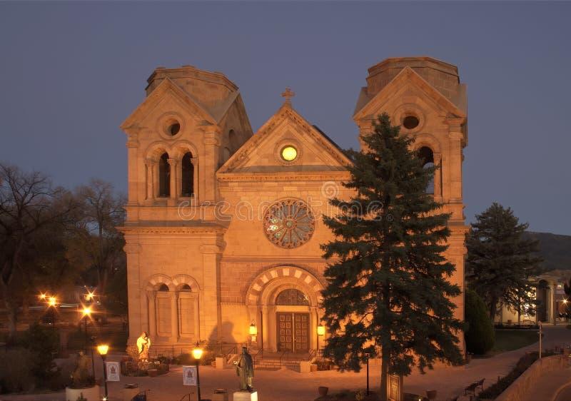 De Basiliek van de kathedraal van st-Francis stock fotografie