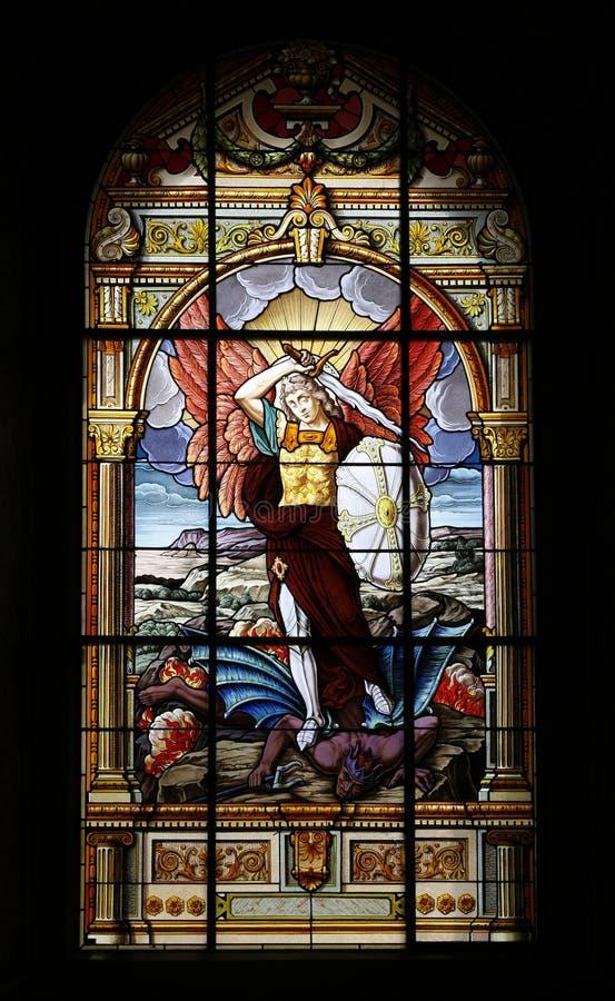 De basiliek van de Kathedraal van St. Joseph stock afbeelding