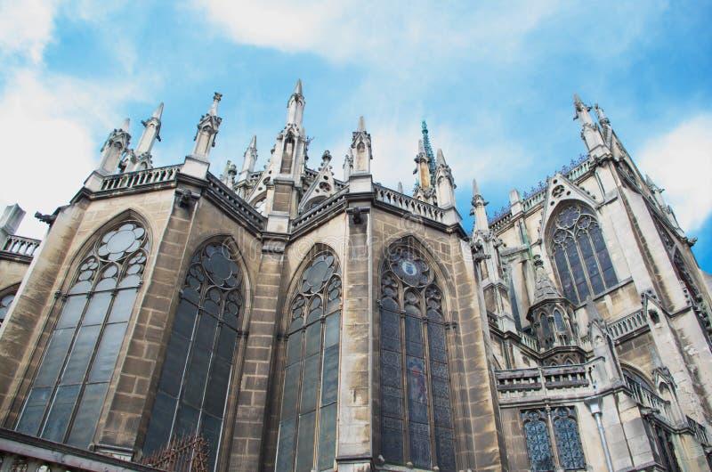De Basiliek van heilige-Epvre royalty-vrije stock foto's