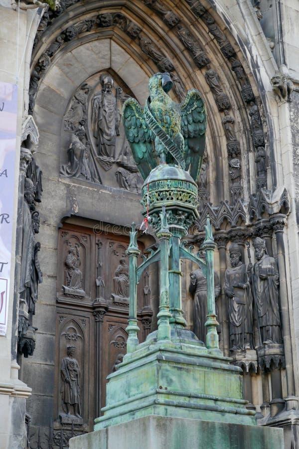 De basiliek van heilige Epvre in Nancy royalty-vrije stock foto