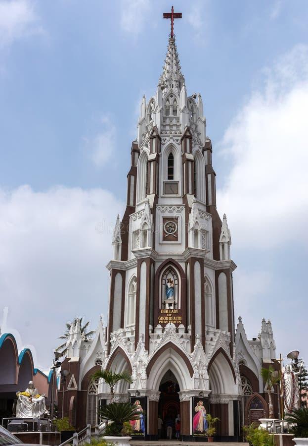 De Basiliek van heilige Mary in Bangalore. royalty-vrije stock afbeeldingen