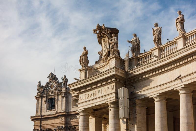 De Basiliek van heilige Peter ` s stock foto's