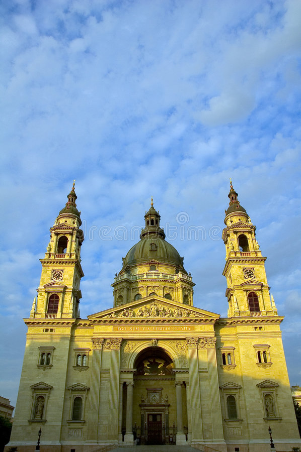 De Basiliek van heilige Stephens in Boedapest 2 stock afbeeldingen