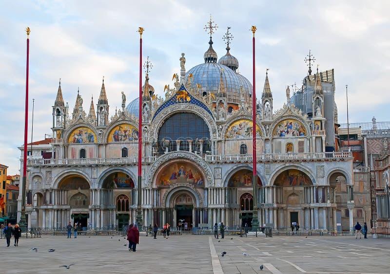 De basiliek van San Marco stock afbeelding