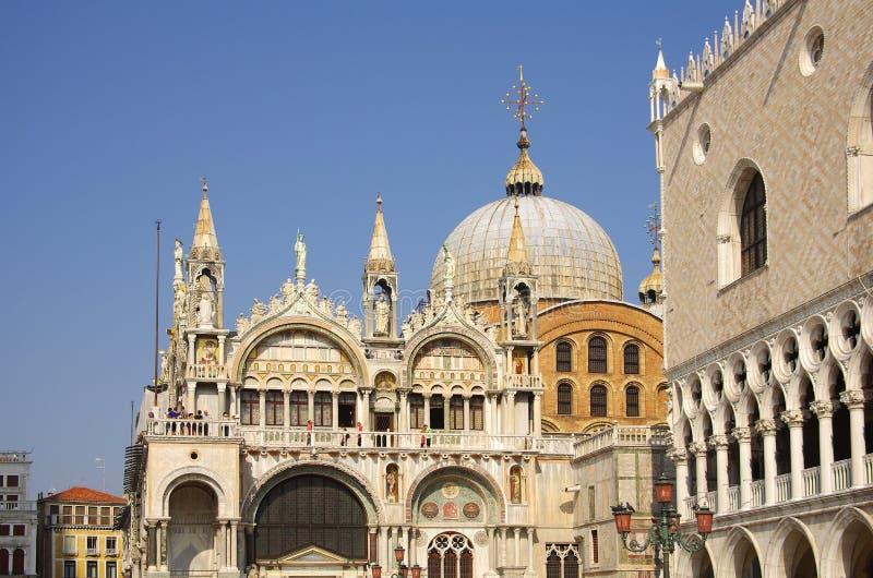 De basiliek van San Marco royalty-vrije stock fotografie