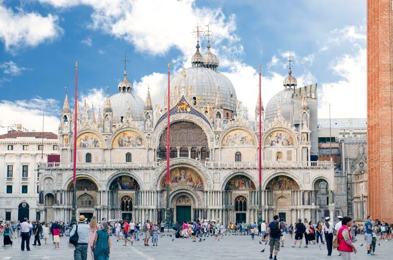 De basiliek van San Marco royalty-vrije stock afbeeldingen