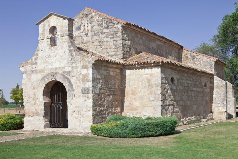 De basiliek van Visigoth stock afbeeldingen