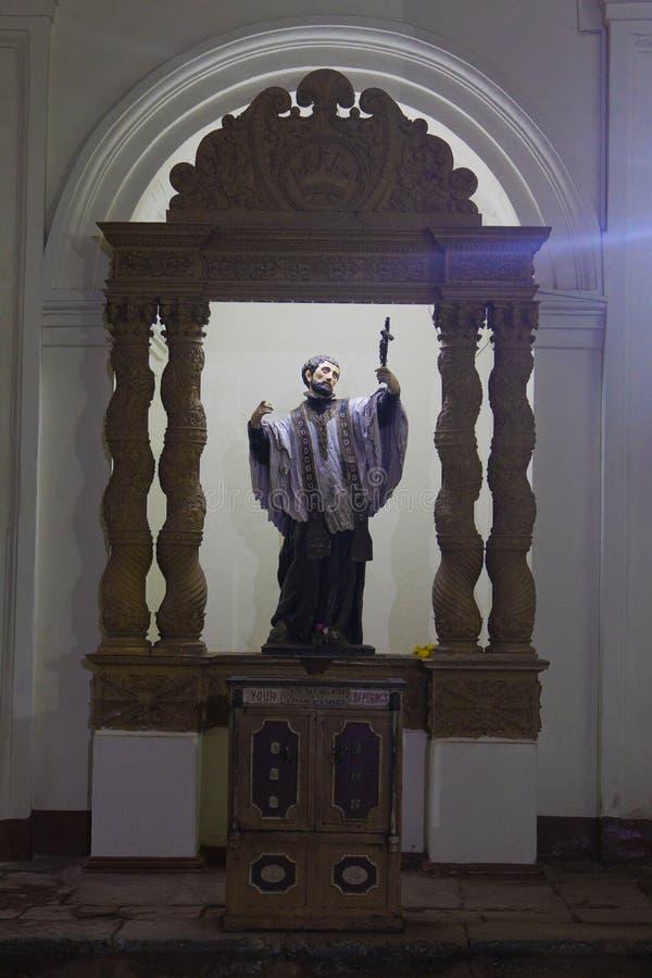 De basiliekkerk houdt royalty-vrije stock afbeelding
