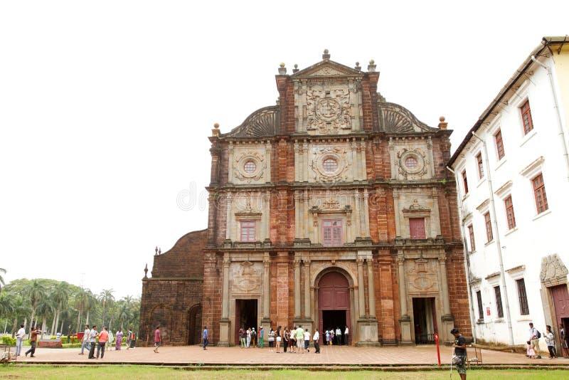 De basiliekkerk houdt de dodelijke overblijfselen van St Francis Xavi royalty-vrije stock fotografie