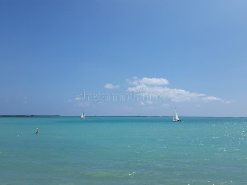De Basis Hawaï van de HickamLuchtmacht stock foto's