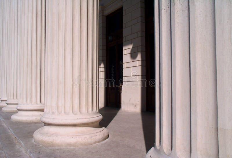 De basis van de kolom royalty-vrije stock afbeeldingen