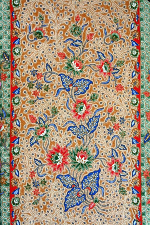 De batik royalty-vrije stock afbeelding