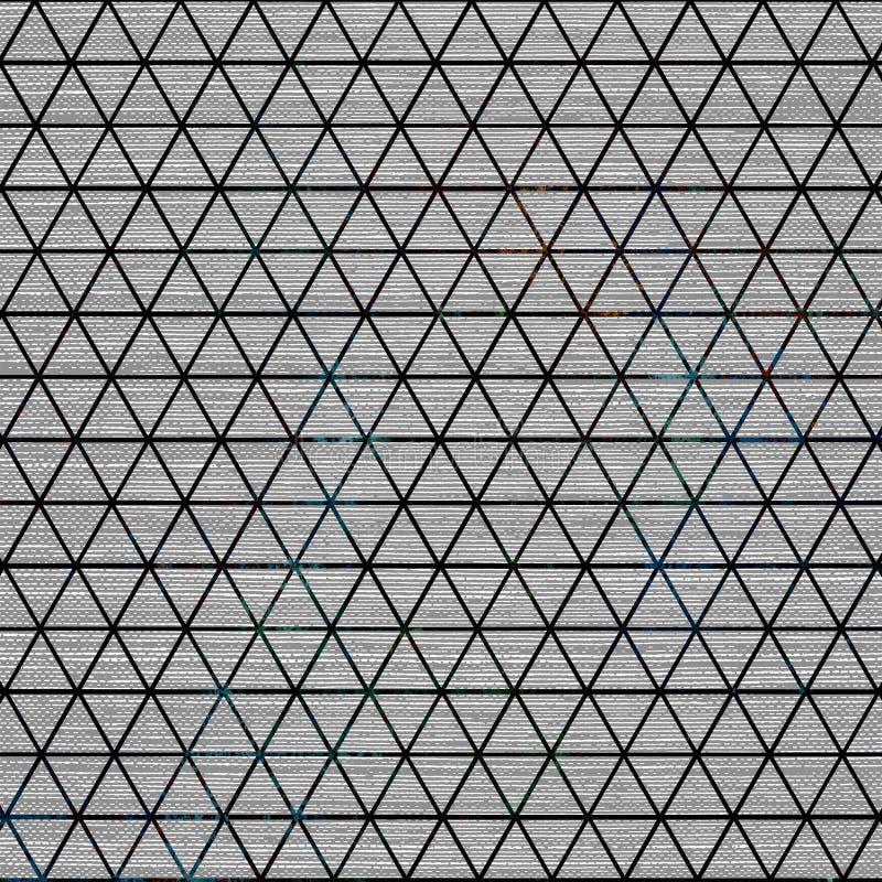 De de batiktextuur van de bandkleurstof herhaalt modern patroon vector illustratie