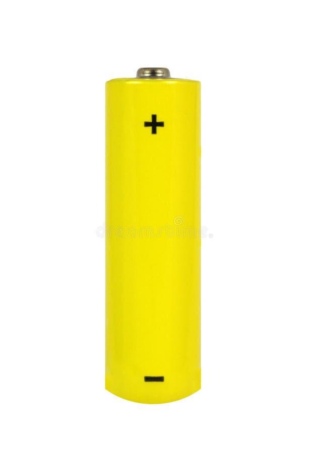 De Batterij van aa stock afbeelding