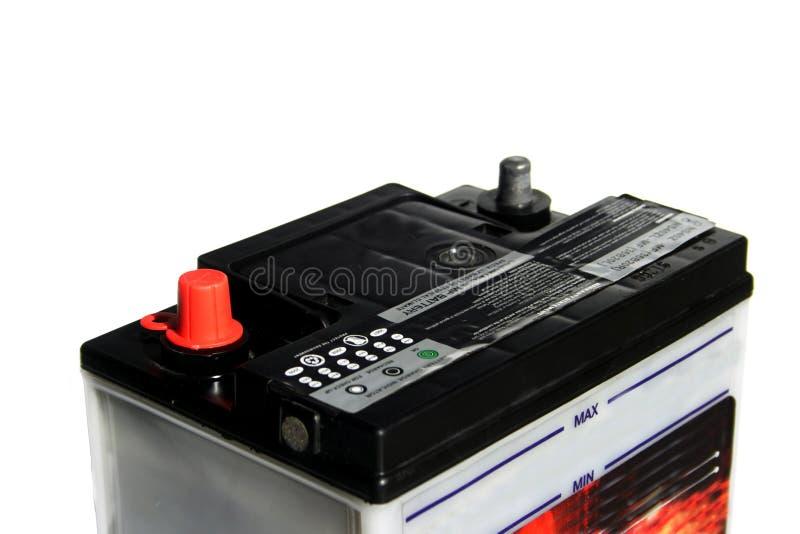 De batterij van de auto stock foto