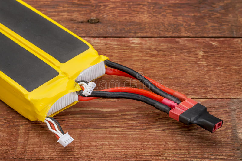 De batterijen van het lithiumpolymeer royalty-vrije stock foto