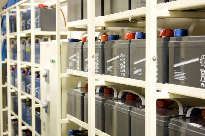 De Batterijen van UPS