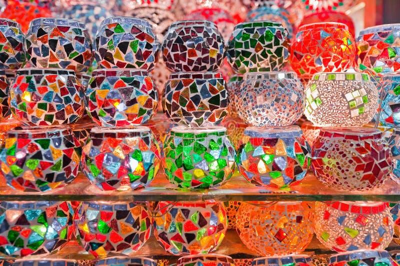 De Bazaar van het kruid in Istanboel royalty-vrije stock afbeelding