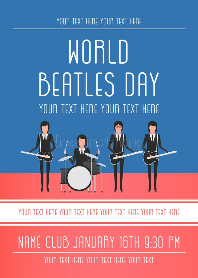 De Beatles-bandonderwerpen stock fotografie