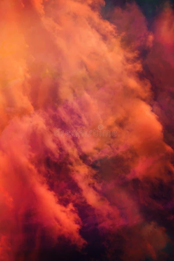 De beaux nuages fantastiques arrière-plan vv photos libres de droits