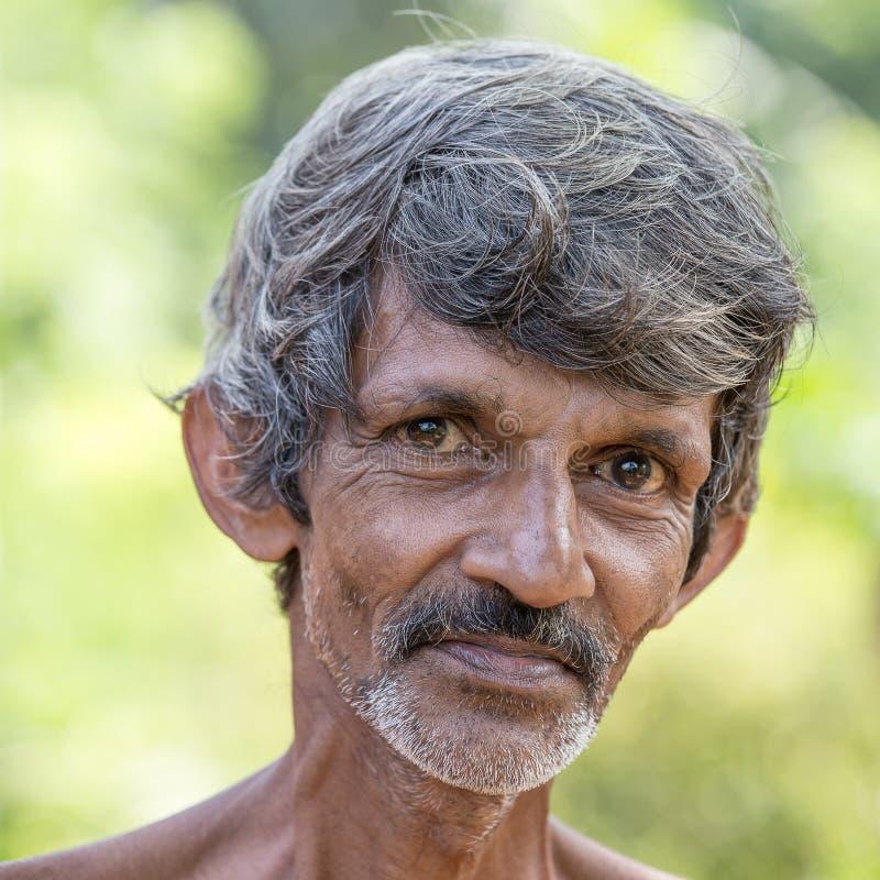 De bedelaar van Srilankan royalty-vrije stock afbeelding