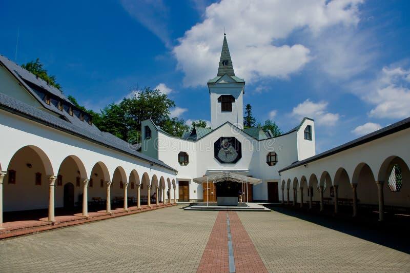 De bedevaartkerk. royalty-vrije stock foto's