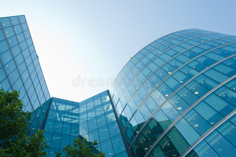 De bedrijfs bouw royalty-vrije stock foto