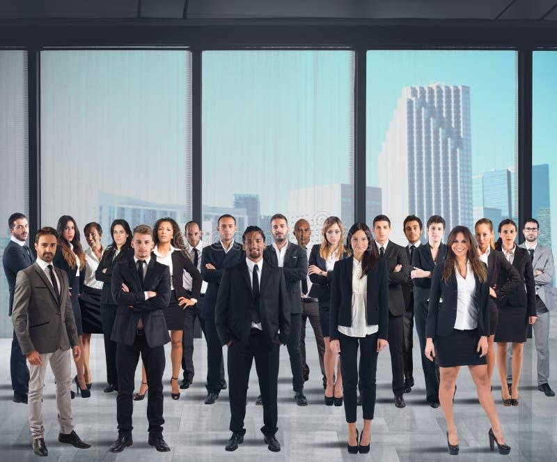 De bedrijfs mensen werken stock foto's
