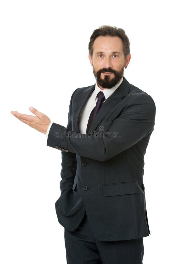 De bedrijfsadviseursmanager toont richting Bekijk dat statistieken financiële gegeven Het richten op bedrijfsreclame Mens stock afbeeldingen