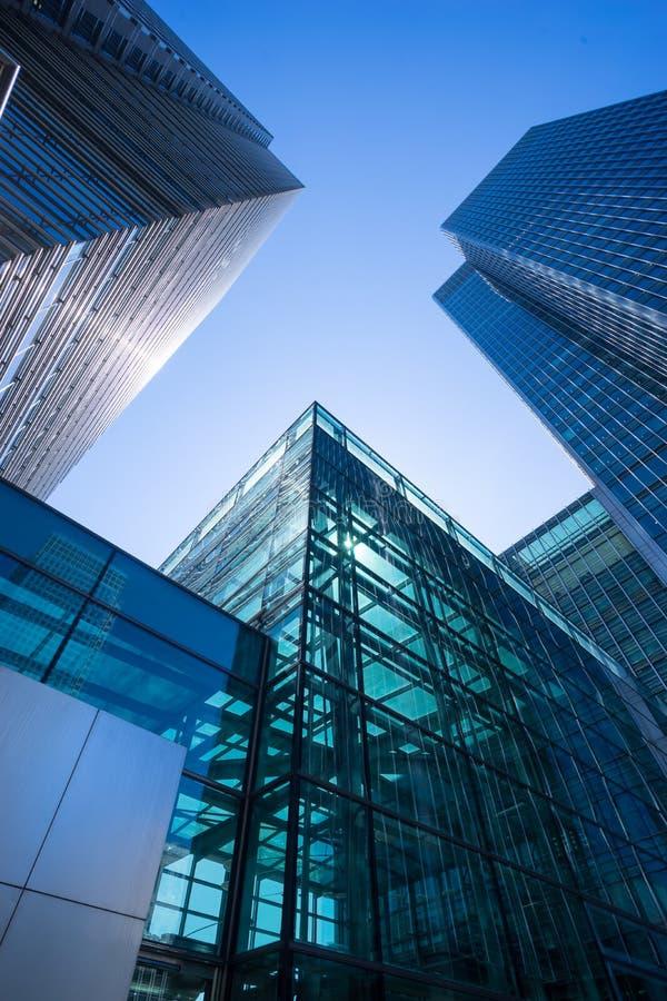 De bedrijfsbureaubouw in Londen, Engeland royalty-vrije stock afbeeldingen