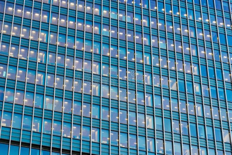 De bedrijfsbureaubouw in Londen, Engeland royalty-vrije stock foto