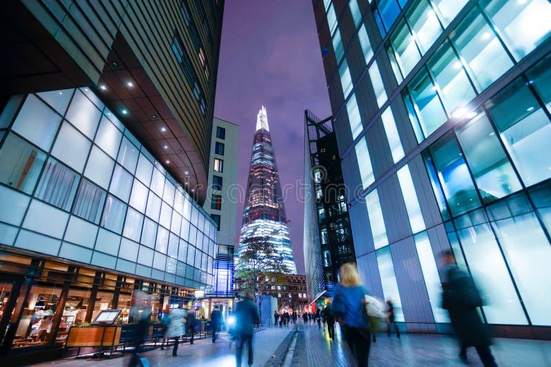 De bedrijfsbureaubouw in Londen, Engeland royalty-vrije stock foto's
