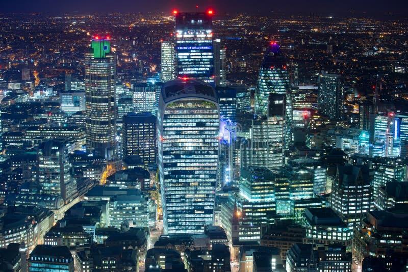De bedrijfsbureaubouw in Londen, Engeland stock fotografie