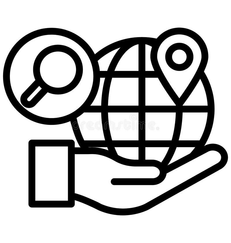 De bedrijfsethiek isoleerde Vectorpictogram dat zich gemakkelijk kan wijzigen of uitgeven vector illustratie