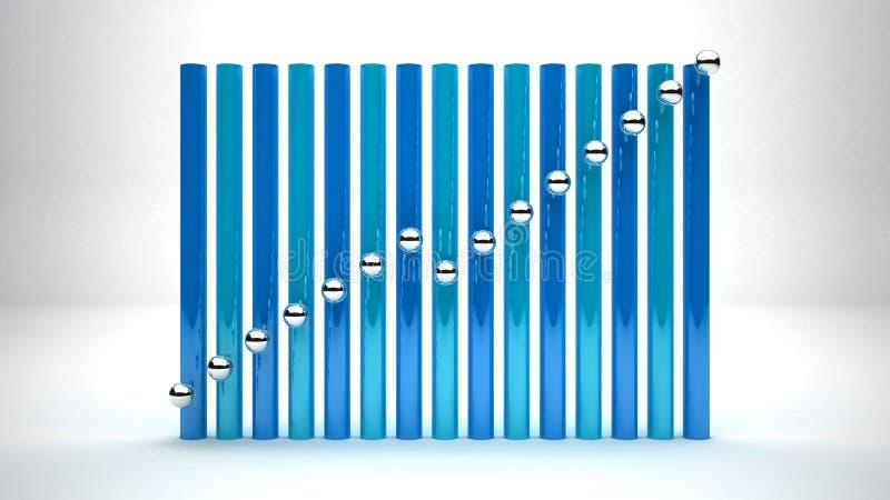 De bedrijfsgroei stock afbeelding