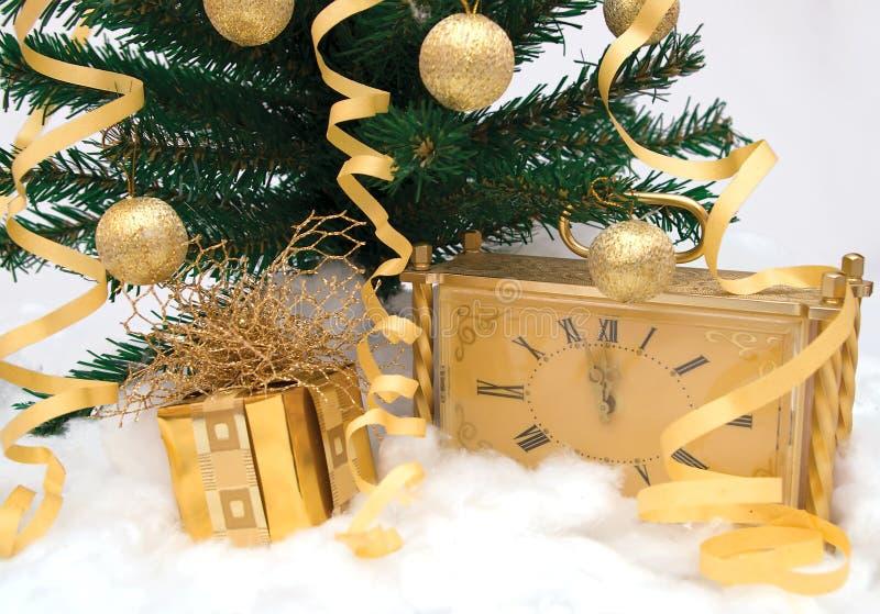 De beeld-kaart van het nieuwjaar stock fotografie